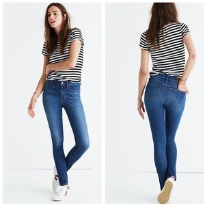 "Madewell 9"" skinny skinny jeans in patty wash 28"